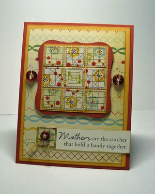 Quilted mothers day