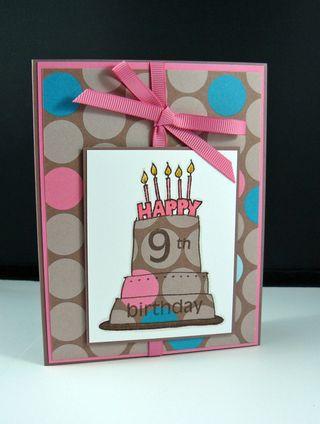 Girl bday cake 2
