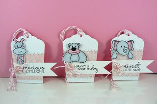 Baby girl tags