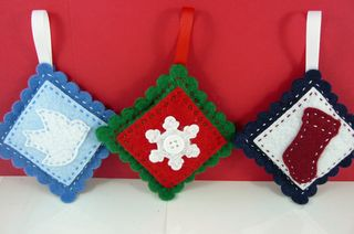 Square ornaments