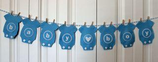 Blue onesie banner