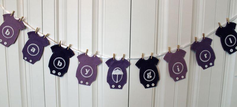 Purple onesie banner