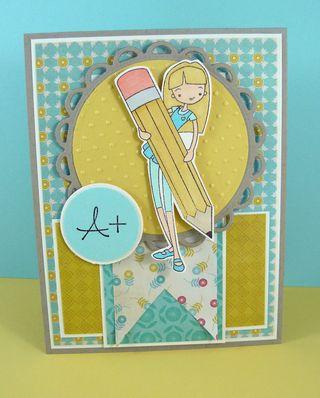 A+ pencil card